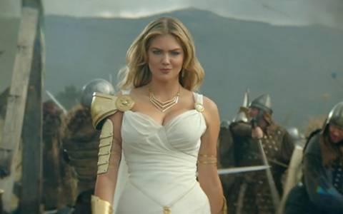 Η Kate Upton είναι η νέα Θεά Αθηνά…