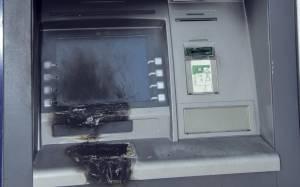 Ξάνθη: Εμπρηστική επίθεση σε δύο ΑΤΜ