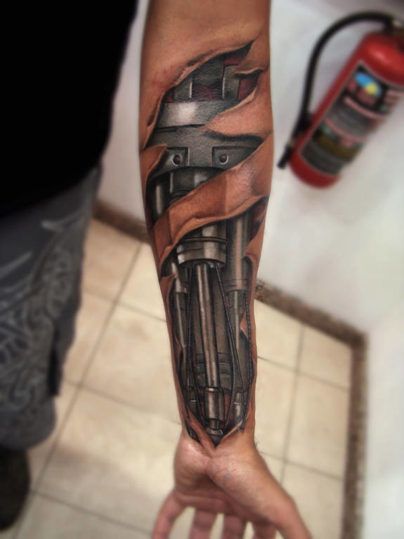 Ρεαλιστικά και 3d τατουάζ που θα σε συναρπάσουν