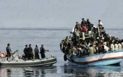 Undocumented migrants rescued in Lesvos