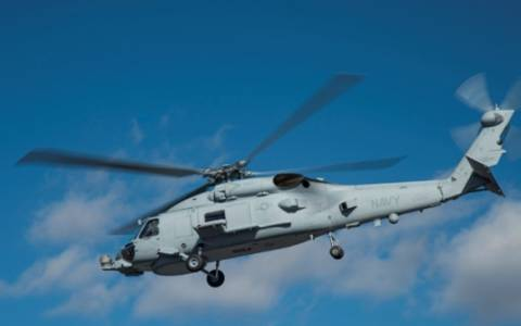 Πολεμικό Ναυτικό ΗΠΑ: Παράδοση ε/π MH-60R από την LM