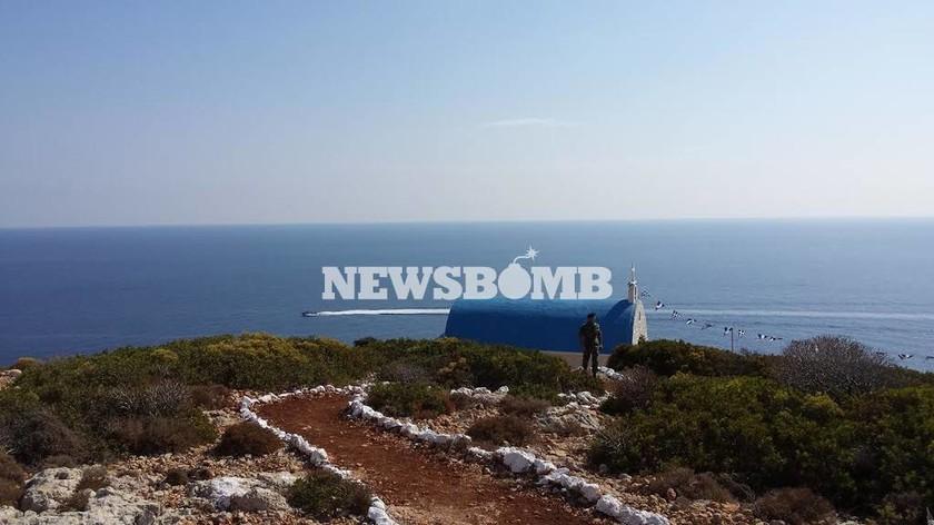 To Νewsbomb.gr «πάτησε» στη Νήσο Στρογγύλη