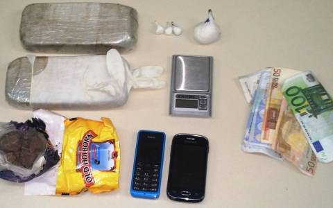 Δύο συλλήψεις διακινητών ηρωίνης στην Κέρκυρα