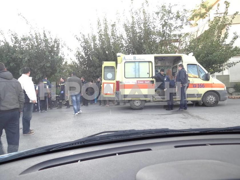 Τροχαίο ατύχημα με δύο τραυματίες στη Ρόδο (Photos&Video)