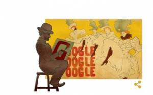 Google: Doodle αφιερωμένο στον Τουλούζ-Λωτρέκ