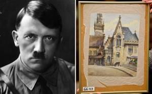 Πίνακας του Χίτλερ πωλήθηκε για 130.000 ευρώ