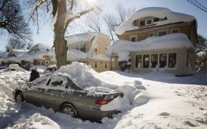 ΗΠΑ: Μετά τα χιόνια έρχονται οι πλημμύρες (pics)