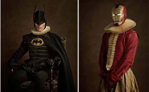 Πώς θα ήταν οι super ήρωες πριν από 500 χρόνια