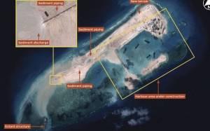 Η Κίνα κατασκευάζει νησί σε αμφισβητούμενα νερά (photos)