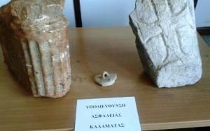Σύλληψη 50χρονου για κατοχή αρχαιοτήτων