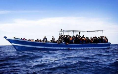Freighter carrying migrants adrift southeast of Crete