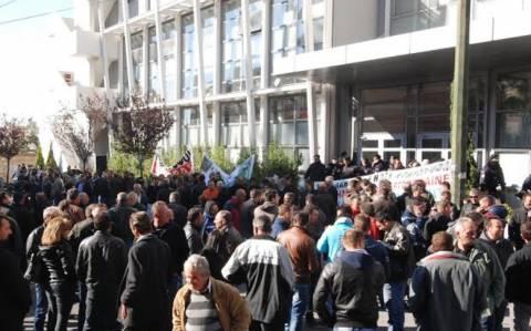 Συγκέντρωση διαμαρτυρίας κτηνοτρόφων στην Αθήνα