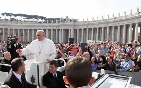 Δείτε live την ομιλία του Πάπα Φραγκίσκου