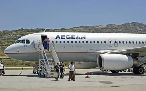 Ματαίωση πτήσεων AEGEAN και Olympic Air λόγω απεργίας