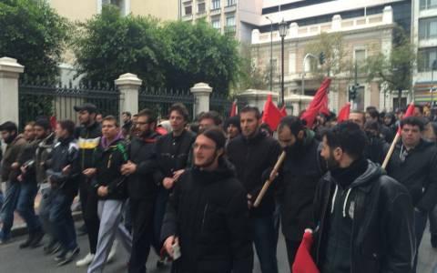 Πανεκπαιδευτικό συλλαλητήριο στα Προπύλαια (pics)