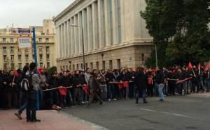 Πανεκπαιδευτικό συλλαλητήριο - Στην Πρυτανεία οι φοιτητές