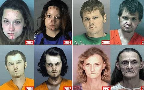Σοκαριστικό: Πριν και μετά τη χρήση ναρκωτικών (video)