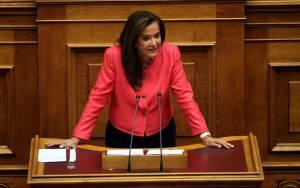 Μπακογιάννη: Να ξεκινήσει τώρα η διαδικασία για εκλογή ΠτΔ
