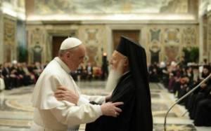 Die Welt: Πάπας- Βαρθολομαίος θέλουν επανένωση Εκκλησιών