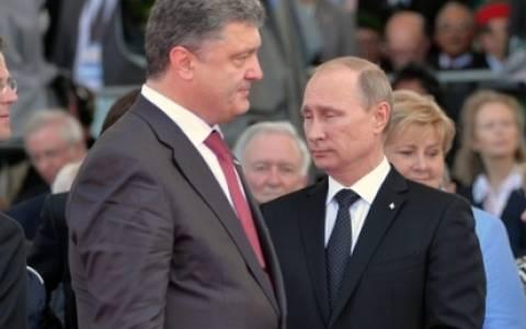 Τηλεφωνική επικοινωνία Πούτιν-Ποροσένκο