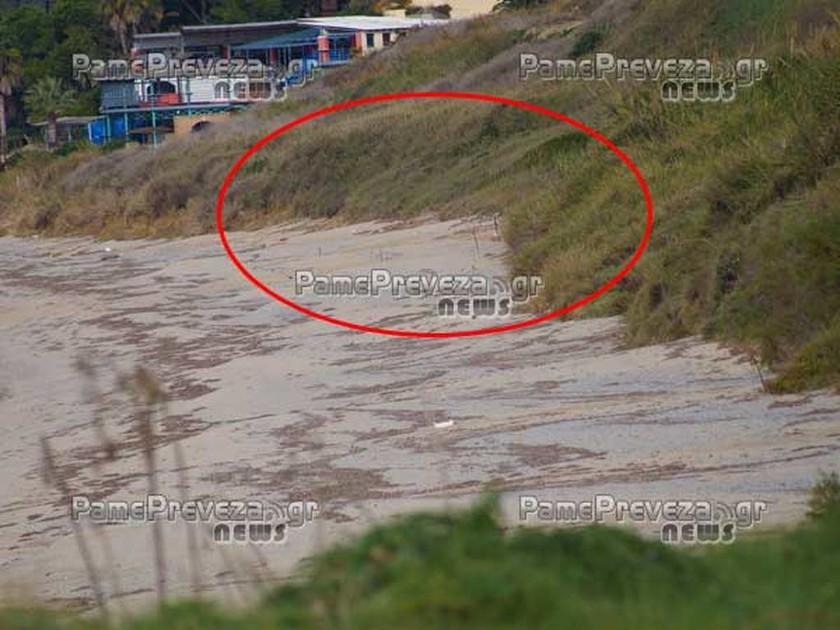 Εντοπίστηκαν νάρκες σε παραλία της Πρέβεζας (pics)
