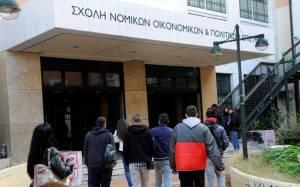 «Καμπανάκι» για το εξάμηνο στη Νομική Αθήνας