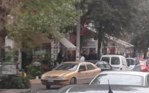 Αυτοπυροβολήθηκε ο ένοπλος στη Θεσσαλονίκη