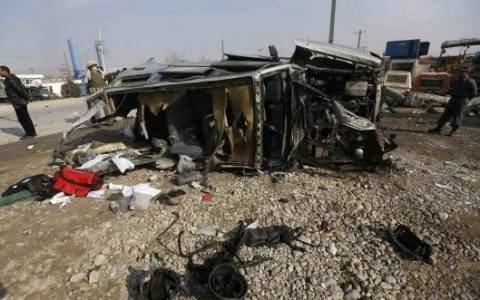 Αφγανιστάν: Επίθεση ανταρτών Ταλιμπάν σε κτίριο στη Καμπούλ