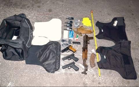 Σύλληψη Αλβανού στον Αγ. Παντελεήμονα με όπλα και πυρομαχικά