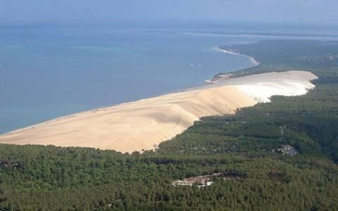 Πού βρίσκεται ο μεγαλύτερος αμμόλοφος στην Ευρώπη