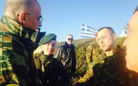 Καστελλόριζο: Το στρατιωτικό «μανιφέστο» στον Δένδια