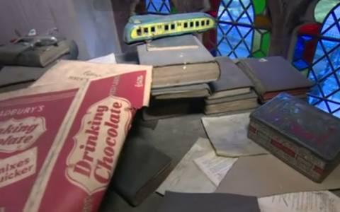 Ανακαλύφθηκε δωμάτιο «χρονοκάψουλα» σε εκκλησία (pics)