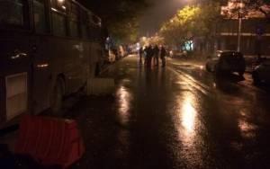 Επίθεση σε άνδρες των ΜΑΤ στη Θεσσαλονίκη