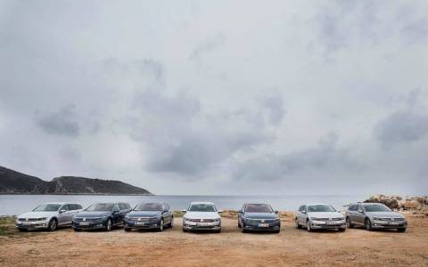 Volkswagen: Passat Experience στην Μεσσηνία