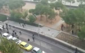 Ισπανία: Βίντεο ντοκουμέντο από τα επεισόδια στη Μαδρίτη