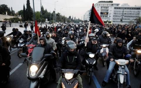 Μηχανοκίνητη πορεία αλληλεγγύης στον Νίκο Ρωμανό