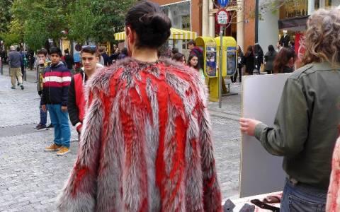 Διαμαρτυρία για τις γούνες από φιλοζωϊκές οργανώσεις