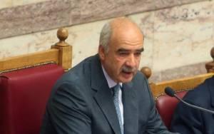 Μεϊμαράκης: «Όχι» εκλογές χωρίς εκλογή ΠτΔ