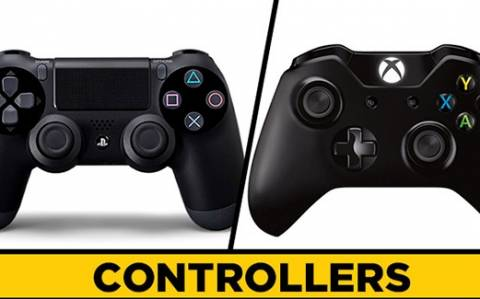 Playstation - Xbox: Η εξέλιξη των χειριστηρίων (gif)