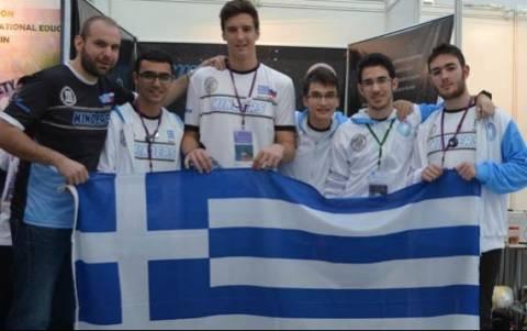 Ελληνική διάκριση στην Ολυμπιάδα Εκπαιδευτικής Ρομποτικής