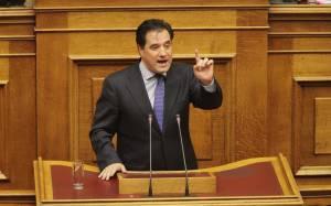 Άγρια κόντρα Τσακαλώτου – Γεωργιάδη στη Βουλή (vid)