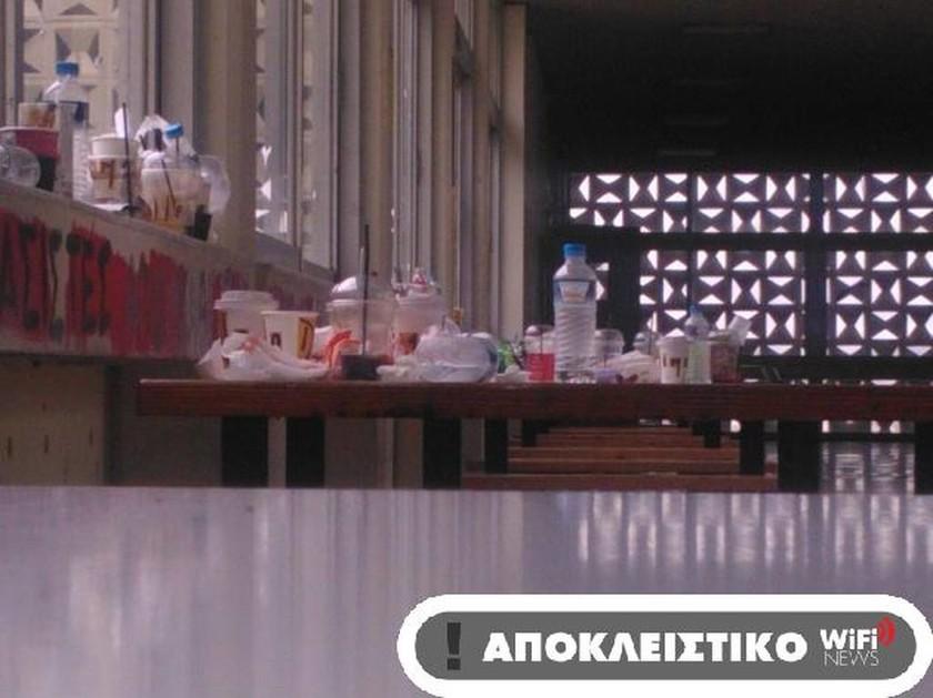 Εικόνες ντροπής στα ελληνικά Πανεπιστήμια