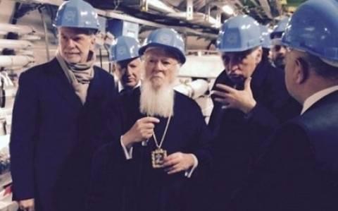 Επίσκεψη του οικουμενικού πατριάρχη Βαρθολομαίου στο CERN