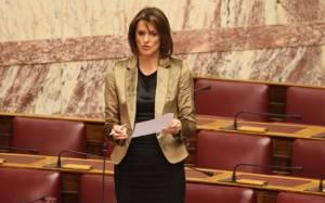 Θα υπερψηφίσει τον προϋπολογισμό η Κ. Μάρκου