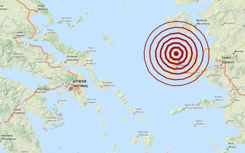 Σεισμός 4,1 Ρίχτερ στις Οινούσσες