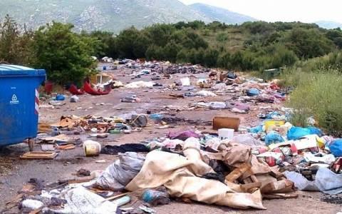 Υγειονομική Βόμβα ο σκουπιδότοπος Λαμίας