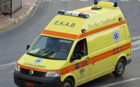 Σοβαρός τραυματισμός δικυκλιστή που έπεσε από γεφύρι