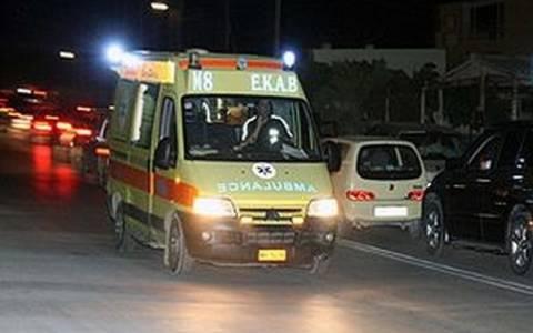 Τριπλή καραμπόλα με τραυματίες στην Αθηνών - Λαμίας