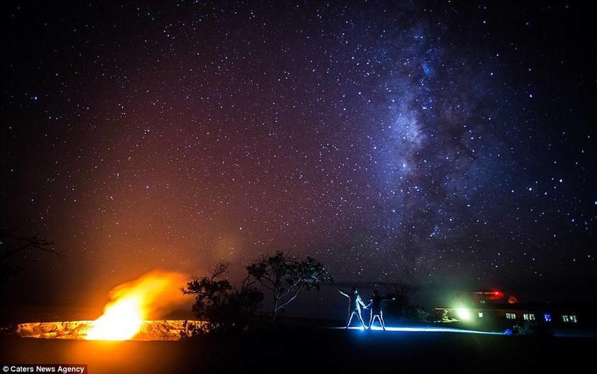 Χαβάη – Ποζάροντας… μπροστά από το ηφαίστειο
