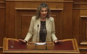 Κ. Παπακώστα: Ο ΣΥΡΙΖΑ δεν διαθέτει εθνική ατζέντα